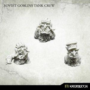 Kromlech   Orc Conversion Parts Soviet Tank Goblin Crew (3) - KRM136 - 5902216116337