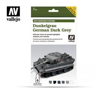 Vallejo   Paint Sets AV Armour Set - AFV Dunkelgrau - VAL78400 - 8429551784009
