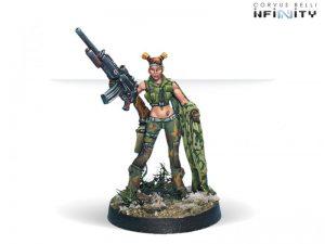 Corvus Belli Infinity  Ariadna Foxtrot Rangers (Sniper) - 280124-0141 - 2801240001417