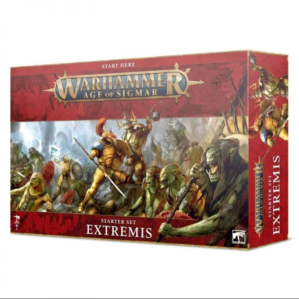 Games Workshop Age of Sigmar  Age of Sigmar Essentials Age of Sigmar: Extremis - 60010299027 - 5011921143184
