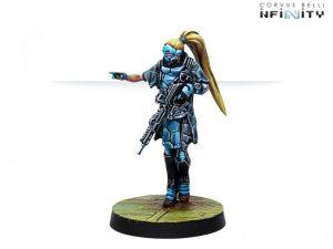 Corvus Belli Infinity  PanOceania Zulu-Cobra, Special Recon and Intervention Team (Hacker) - 281208-0763 - 2812080007637