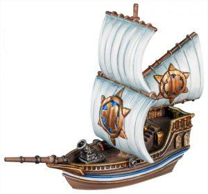 Mantic Kings of War Armada  Basileans Basilean Gunbrig - MGARB202 - 5060469667447