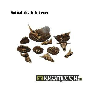 Kromlech   Basing Extras Animal skulls & bones (11) - KRBK006 - 5902216111882
