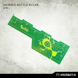 Kromlech   Tapes & Measuring Sticks Morbid Battle Ruler [green] (1) - KRGA034 - 5902216114296