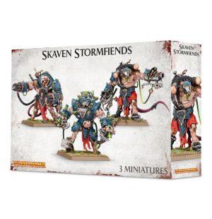 Games Workshop Age of Sigmar  Skaven Pestilens Skaven Stormfiends - 99120206017 - 5011921057122