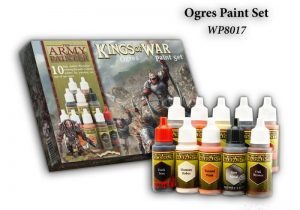 The Army Painter   Paint Sets Warpaints Kings of War Ogres - APWP8017 -