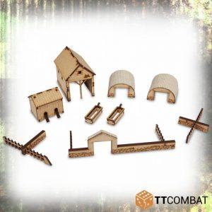 TTCombat   World War Scenics 25mm Farm Accessories - TTSCW-WAR-054 - 5060570134760