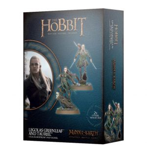 Games Workshop (Direct) Middle-earth Strategy Battle Game  Good - The Hobbit The Hobbit: Legolas Greenleaf and Tauriel - 99121463011 - 5011921114955