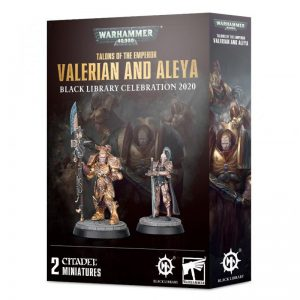 Games Workshop Warhammer 40,000  Adeptus Custodes Talons of The Emperor: Valerian and Aleya - 99120108031 - 5011921129775
