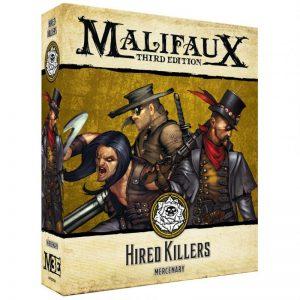 Wyrd Malifaux  Outcasts Hired Killers - WYR23503 - 812152031630