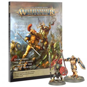 Games Workshop Age of Sigmar  Stormcast Eternals Getting Started with Age of Sigmar (2021) - 60040299112 - 9781839064142