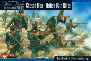 Warlord Games Black Powder  British (Napoleonic) British 95th Rifles (Chosen Men) - WGN-BR-04 - 5060200848562