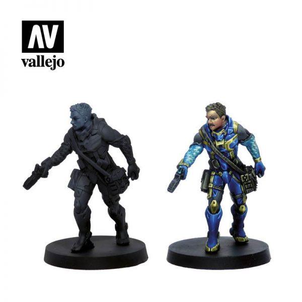 Vallejo   Model Colour AV Vallejo Model Color Set - Infinity O-12 Exclusive - VAL70239 - 8429551702393