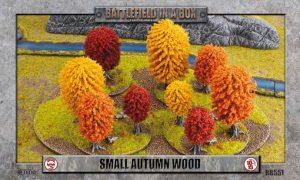 Battlefront   Battlefield in a Box Battlefield in a Box: Small Autumn Wood - BB551 - 9420020221291