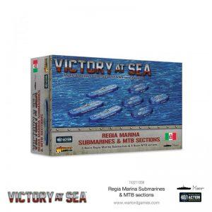 Warlord Games Victory at Sea  Victory at Sea Victory at Sea: Regia Marina Submarines & MTB Sections - 743211009 - 5060572506831