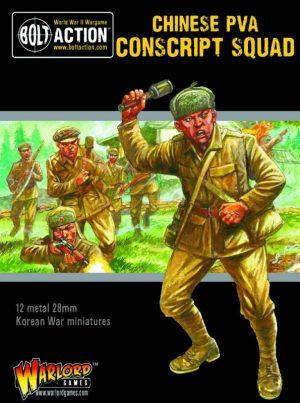 Warlord Games Bolt Action  Korean War (1950-1953) Korean War: Chinese PVA Conscript Squad - 412218502 - 5060572503717