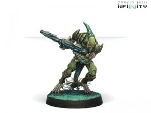 Corvus Belli Infinity  Combined Army Combined Army Shasvastii Gwailos (MULTI Rifle) - 280637-0275 - 2806370002754