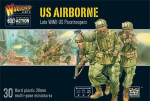 Warlord Games Bolt Action  United States of America (BA) US Airborne plastic boxed set - 402013101 - 5060393704843
