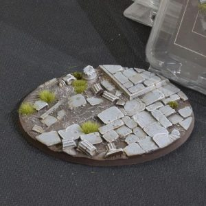 Gamers Grass   Battle-ready Temple Bases Temple Bases Oval 120mm (x1) - GGB-TO120 - 738956789266