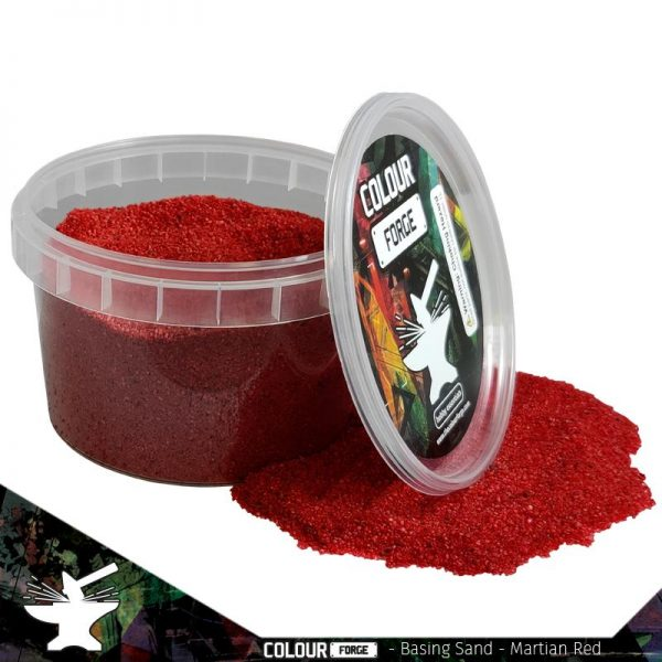 The Colour Forge   Sand & Flock Basing Sand - Martian Red (275ml) - TCF-BAS-008 - 5060843100812