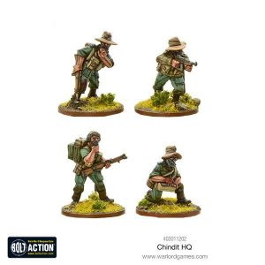 Warlord Games Bolt Action  Great Britain (BA) Chindit HQ - 403011202 - 5060393708339