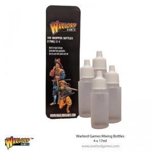 Warlord Games   Warlord Games Tools Warlord Mixing Bottles (4) x 17ml - 843419916 - 5060572507425