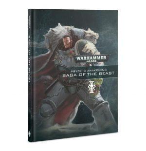 Games Workshop (Direct) Warhammer 40,000  Psychic Awakening Psychic Awakening: Saga of The Beast - 60040199114 - 9781788267854