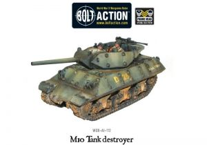 Warlord Games Bolt Action  United States of America (BA) M10 US Tank Destroyer - WGB-AI-112 -
