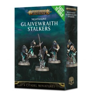Games Workshop (Direct) Age of Sigmar  Nighthaunts Easy To Build: Glaivewraith Stalkers - 99120207056 - 5011921099344