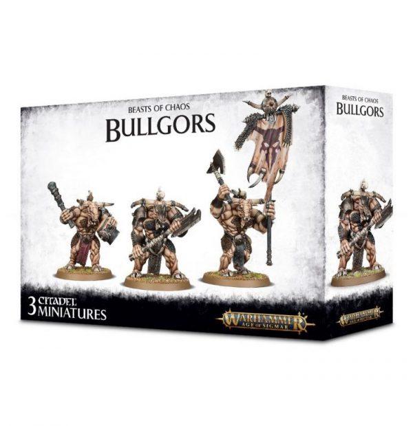 Games Workshop (Direct) Age of Sigmar  Beasts of Chaos Beastmen Bullgors - 99120216008 - 5011921102723