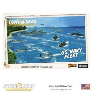Warlord Games Cruel Seas  Cruel Seas Cruel Seas: US Navy Fleet - 782611002 - 5060393709640
