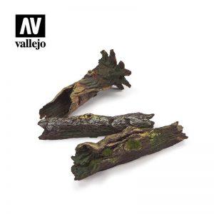 Vallejo   Vallejo Scenics Vallejo Scenics - Scenery: Fallen Logs - VALSC304 - 8429551987141