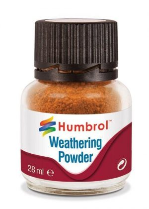 Humbrol   Weathering Powders Weathering Powder 28ml- Rust - AV0008 - 5010279700094