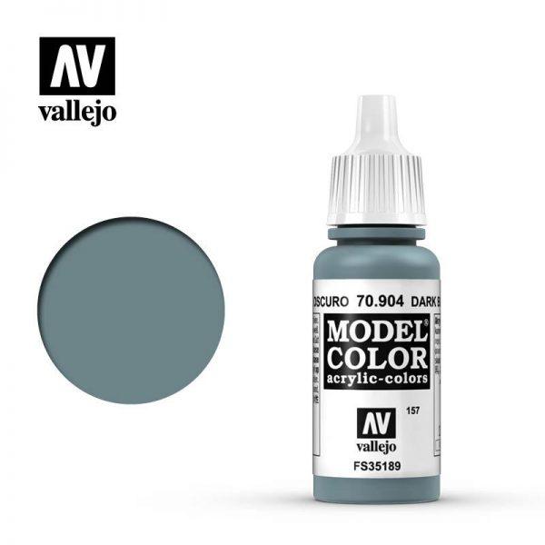 Vallejo   Model Colour Model Color: Dark Blue Pale - VAL904 - 8429551709040