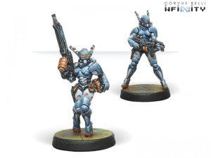 Corvus Belli Infinity  PanOceania Orc Troops (HMG/Boarding Shotgun) - 280292-0659 - 2802920006593