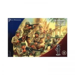 Perry Miniatures   Perry Miniatures US Infantry 1942-45 - US1 - us 1