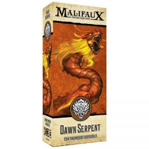 Wyrd Malifaux  Ten Thunders Dawn Serpent - WYR23726 - 812152031456