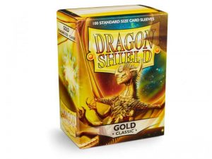 Dragon Shield   Dragon Shield Dragon Shield Sleeves Gold (100) - DS100G - 5706569100063