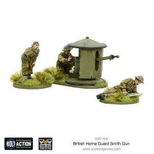 Warlord Games Bolt Action  Great Britain (BA) British Home Guard Smith Gun - 403011002 - 5060393706663