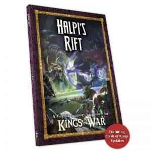 Mantic Kings of War  Kings of War Essentials Clash of Kings 2021: Halpi's Rift - MGKWM109 - 5060469666006