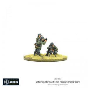 Warlord Games Bolt Action  Germany (BA) Blitzkrieg German Medium Mortar Team (1939-42) - 403012016 - 5060572501621