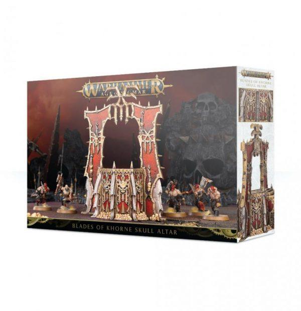 Games Workshop Age of Sigmar  Blades of Khorne Khorne Skull Altar - 99120201083 - 5011921118977