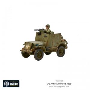 Warlord Games Bolt Action  United States of America (BA) US Armoured Jeep - 403213003 - 5060572500471