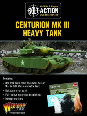 Warlord Games Bolt Action  Great Britain (BA) British Centurion Mk III - 405118001 - 5060572503519