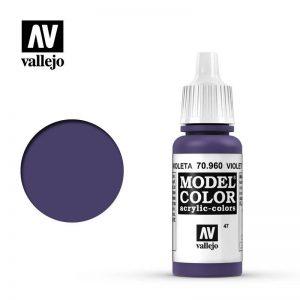Vallejo   Model Colour Model Color: Violet - VAL960 - 8429551709606