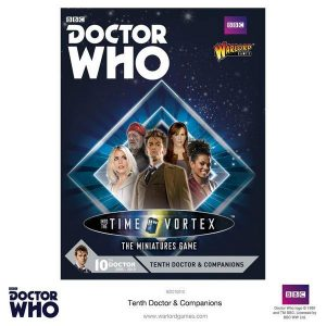Warlord Games Doctor Who  Doctor Who Doctor Who: 10th Doctor and Companions - 602210010 - 5060393704478