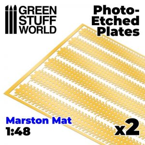 Green Stuff World   Etched Brass Photo etched - MARSTON MATS 1/48 - 8435646501154ES -