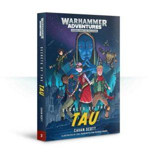 Games Workshop   Warhammer 40000 Books Warped Galaxies: Secrets of the T'au (softback) - 60100181713 - 9781784968397