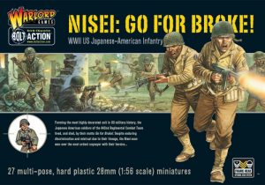 Warlord Games Bolt Action  United States of America (BA) Go For Broke! Nissei Infantry - WGB-AI-04 - 5060200843574