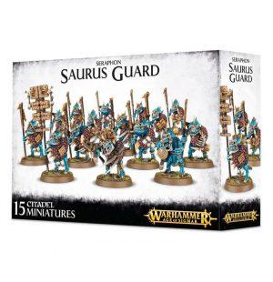 Games Workshop Age of Sigmar  Seraphon Seraphon Saurus Guard - 99120208016 - 5011921066322